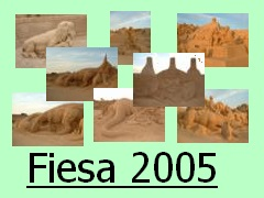 Fiesa Sand Sculptures 2005
